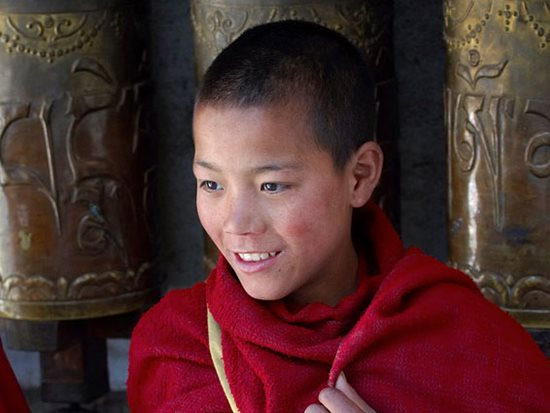 Little monk in Tawang